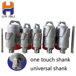 HSS Annular Cutter With One-Touch Shank